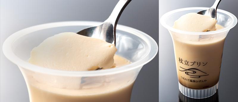 Tsuetate pudding