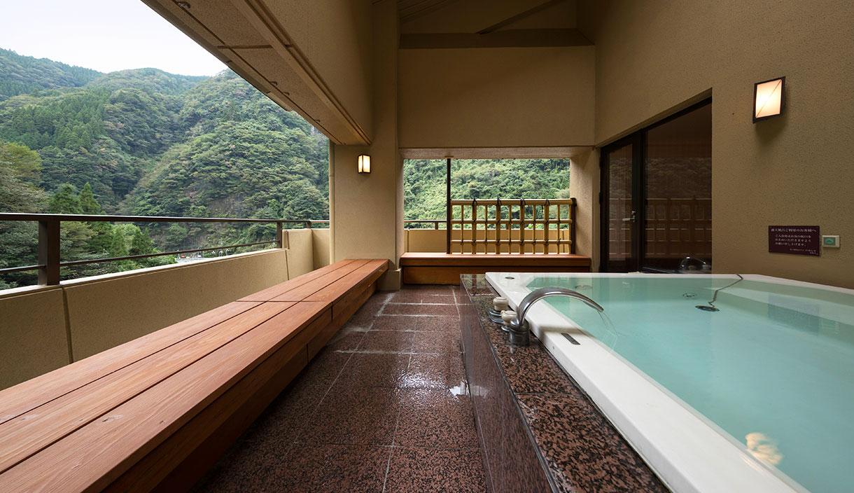最上階専用露天風呂付数竒屋丸貴賓室