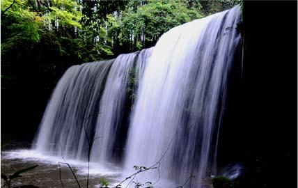 Pan ke waterfall
